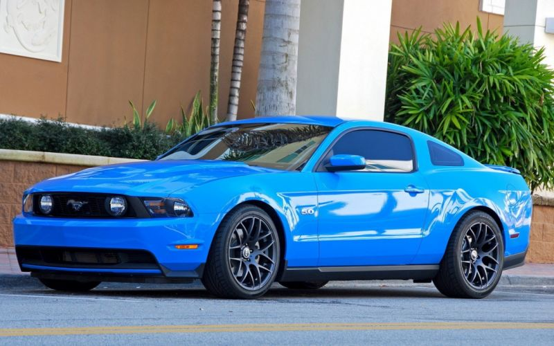 Ford muscle cars Ford Mustang American cars Ford Shelby GT500 SuperSnake Mustang Shelby 2013 Ford Mustang GT 5_0 Mustang GT blue paint wallpaper