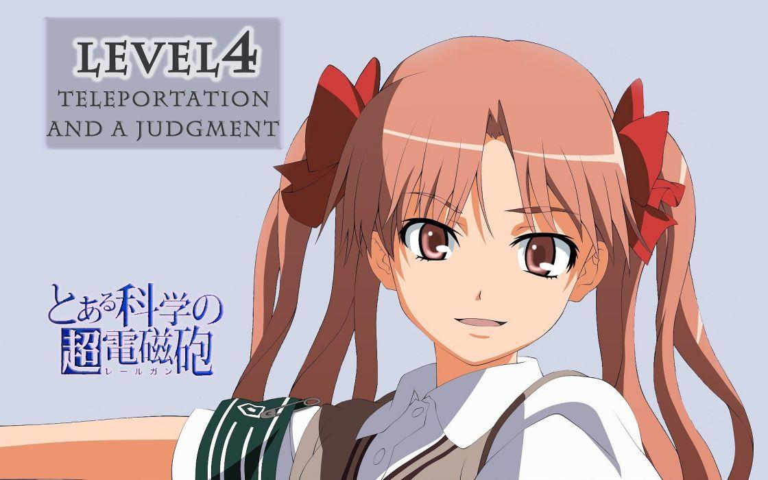 Shirai Kuroko Toaru Majutsu no Index wallpaper