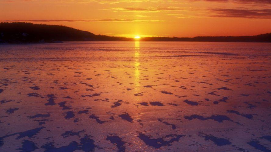 sunset Canada Kelly wallpaper