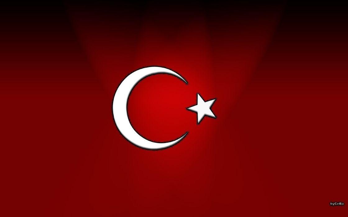 flags Turkey wallpaper