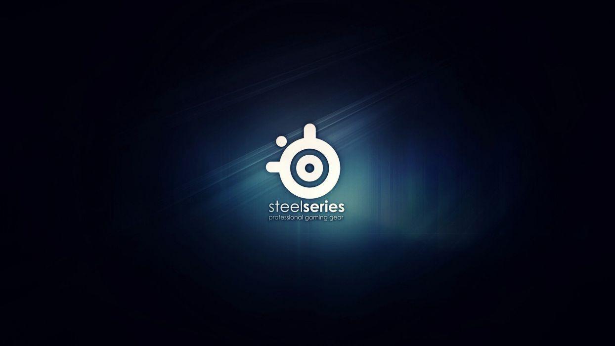 Steelseries logos wallpaper