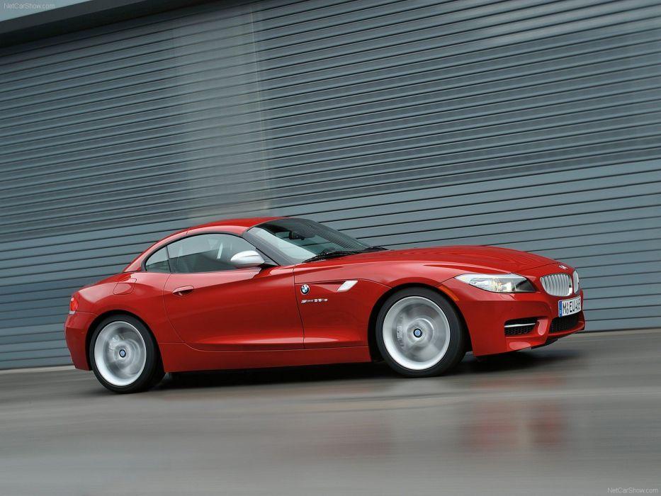 BMW red cars BMW Z4 wallpaper