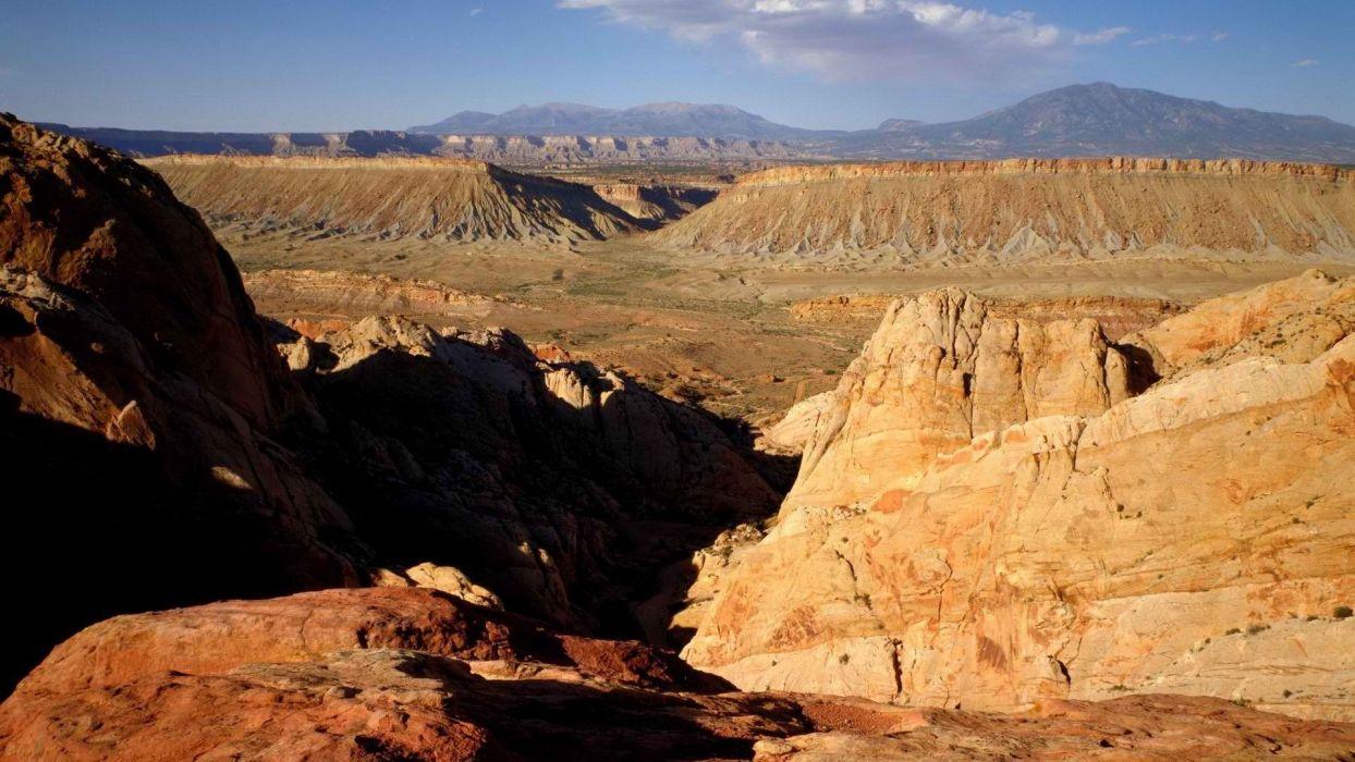 valleys reef Utah National Park wallpaper
