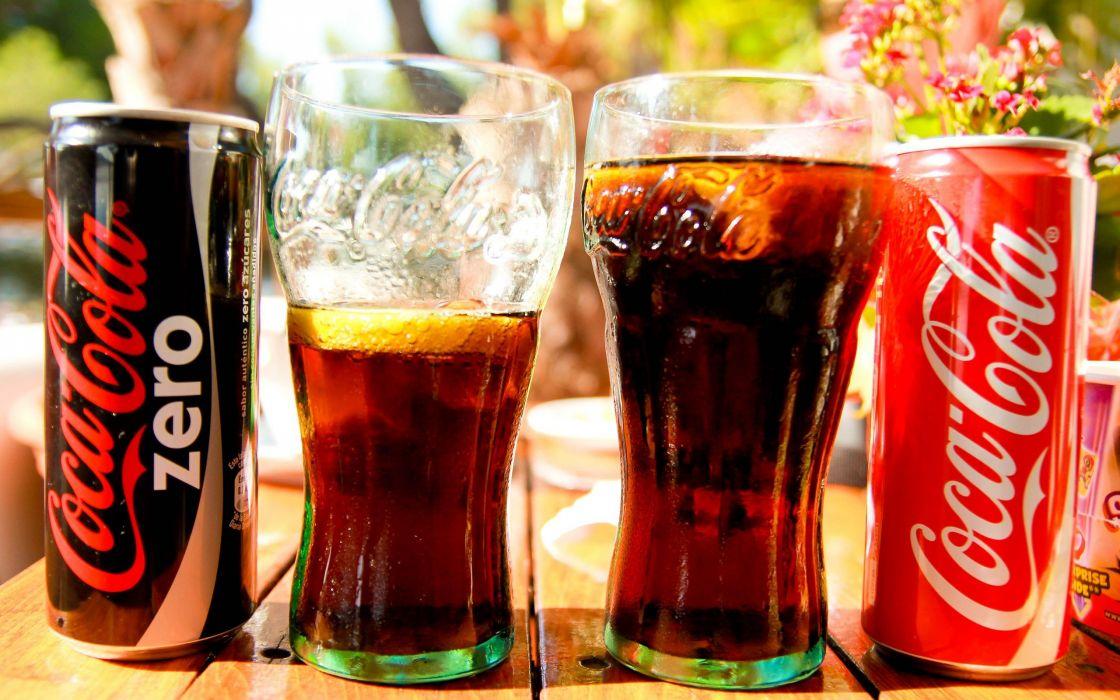 Coca-Cola soda soda cans wallpaper
