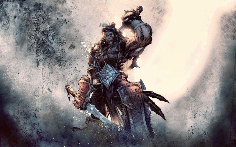 World of Warcraft artwork Varian Wrynn wallpaper