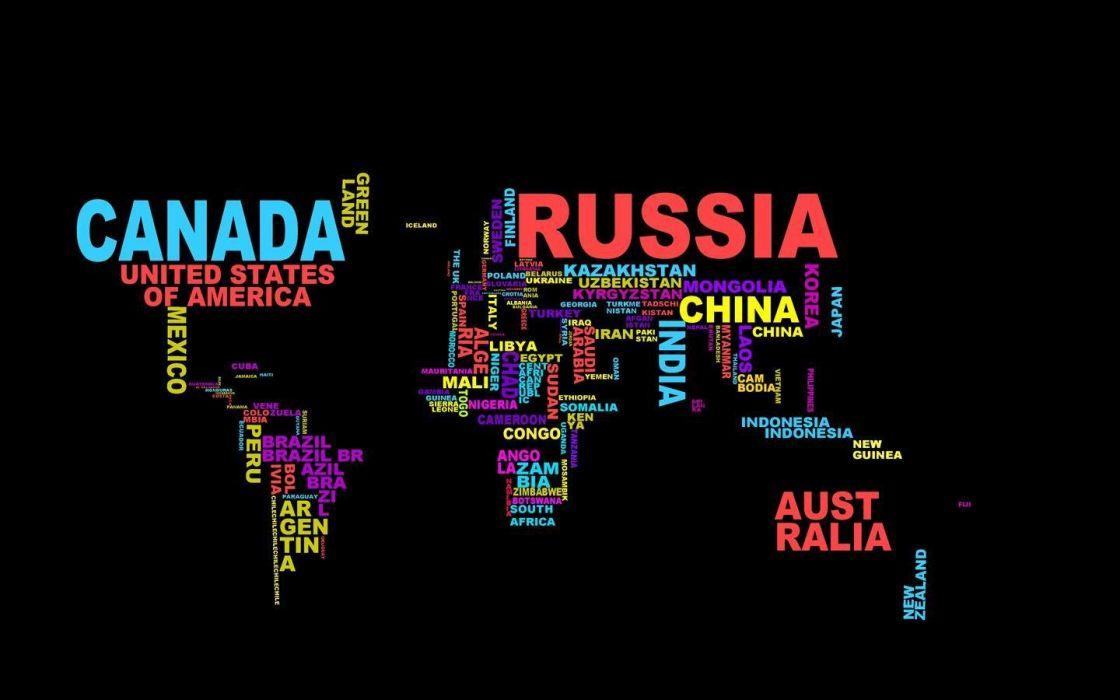 typography wordcloud wallpaper