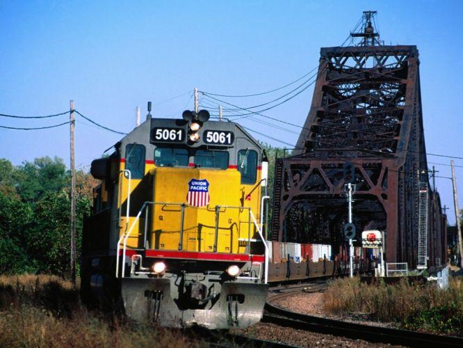 trains Pacific wallpaper