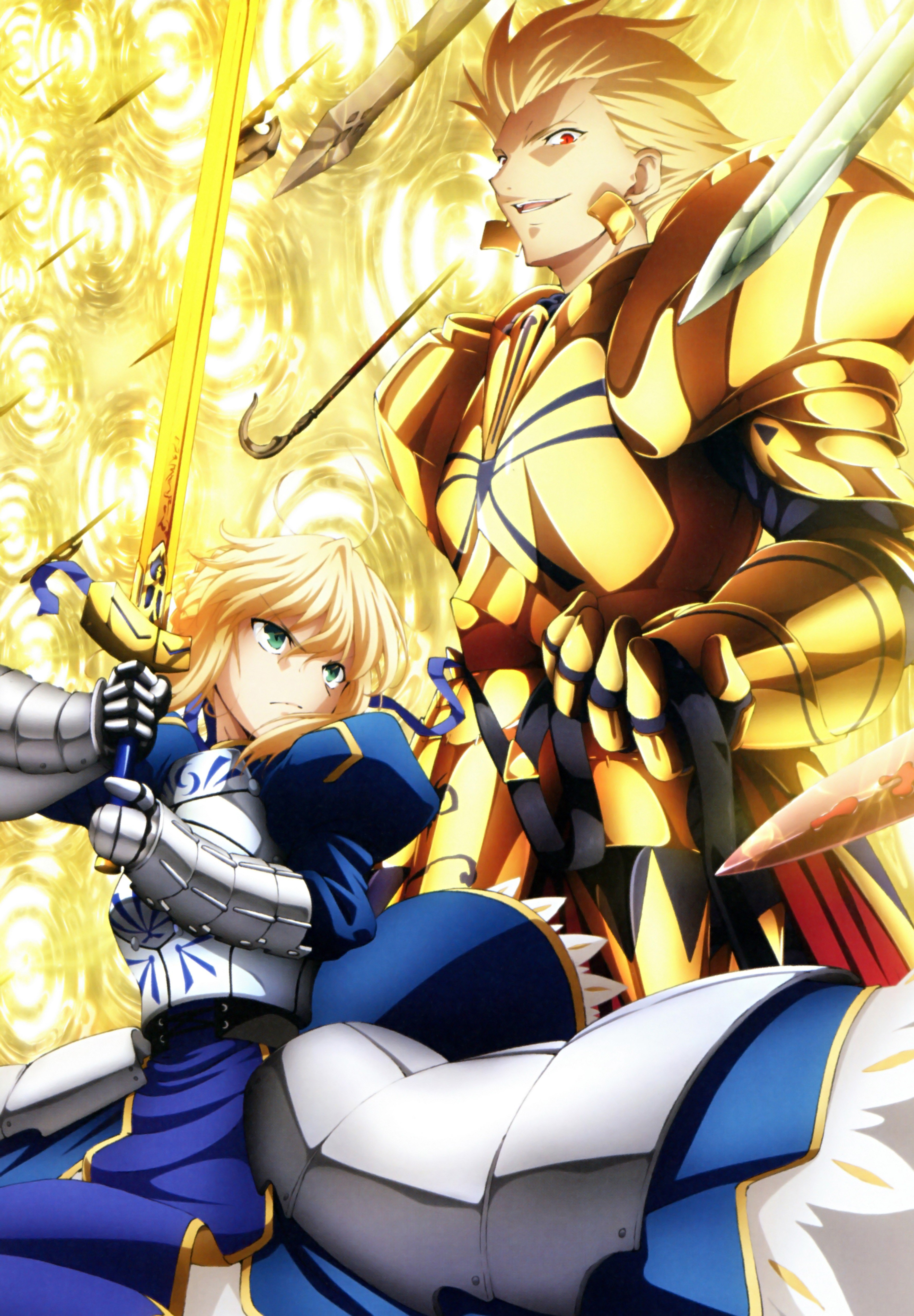 Gilgamesh Anime Saber Fatezero Fate Series Wallpaper