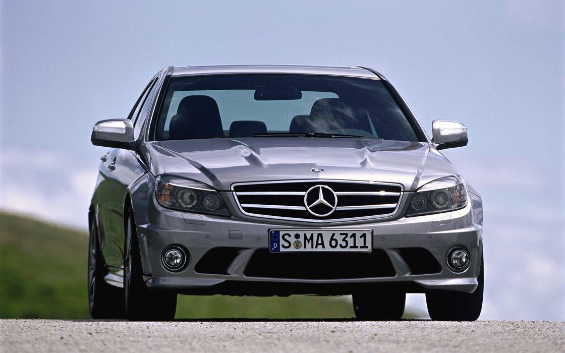cars vehicles Mercedes-Benz Mercedes C 63 AMG wallpaper