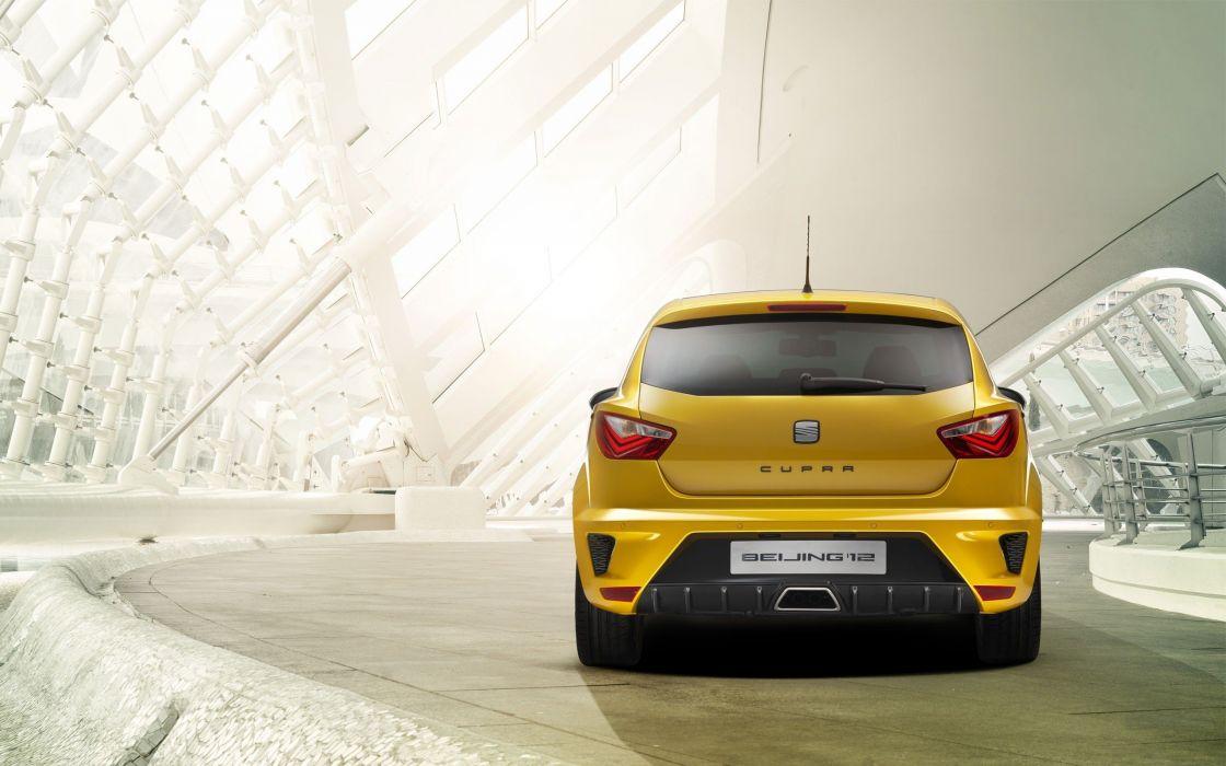 cars vehicles Seat Ibiza yellow cars Seat Ibiza wallpaper