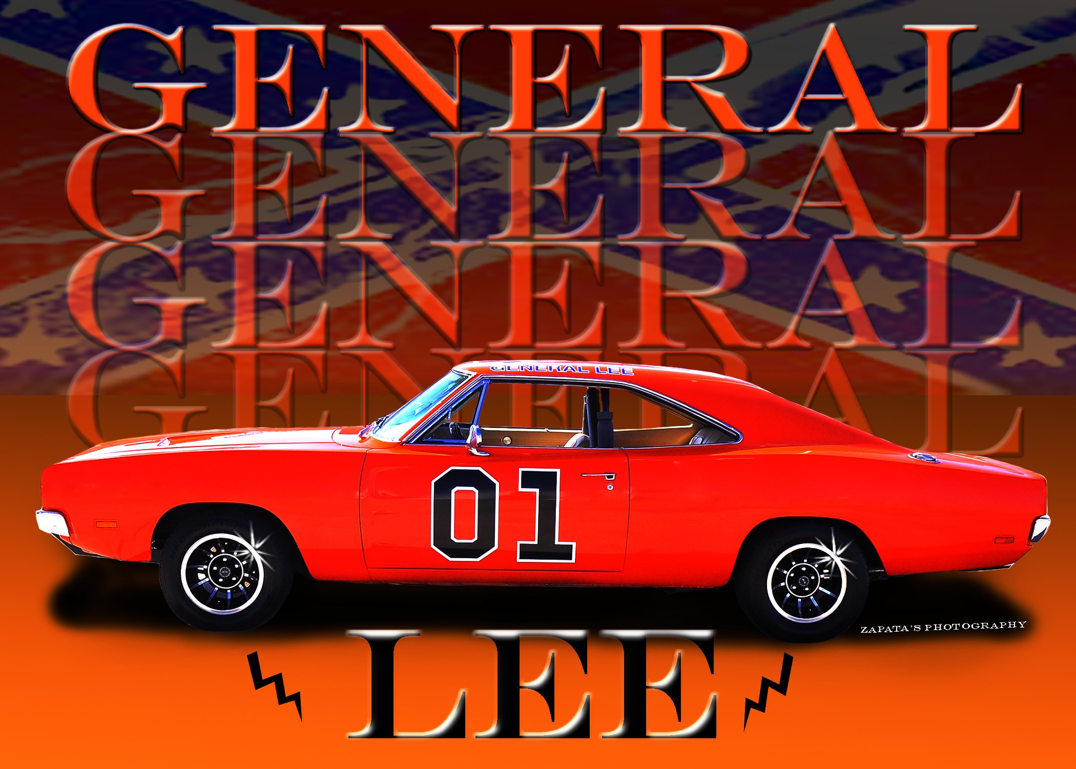 general lee dukes hazzard dodge charger muscle hot rod