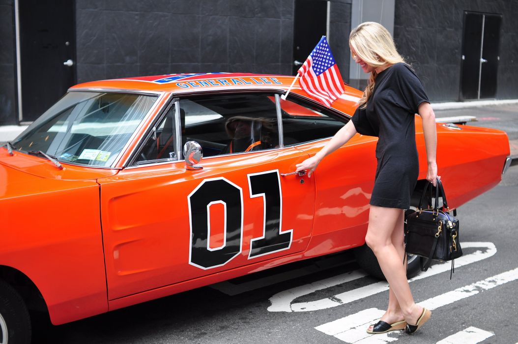 GENERAL LEE dukes hazzard dodge charger muscle hot rod rods television series jessica simpson wallpaper