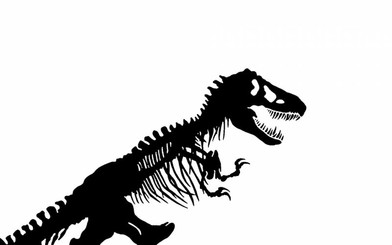 JURASSIC PARK adventure sci-fi fantasy dinosaur movie film skeleton skull dark wallpaper