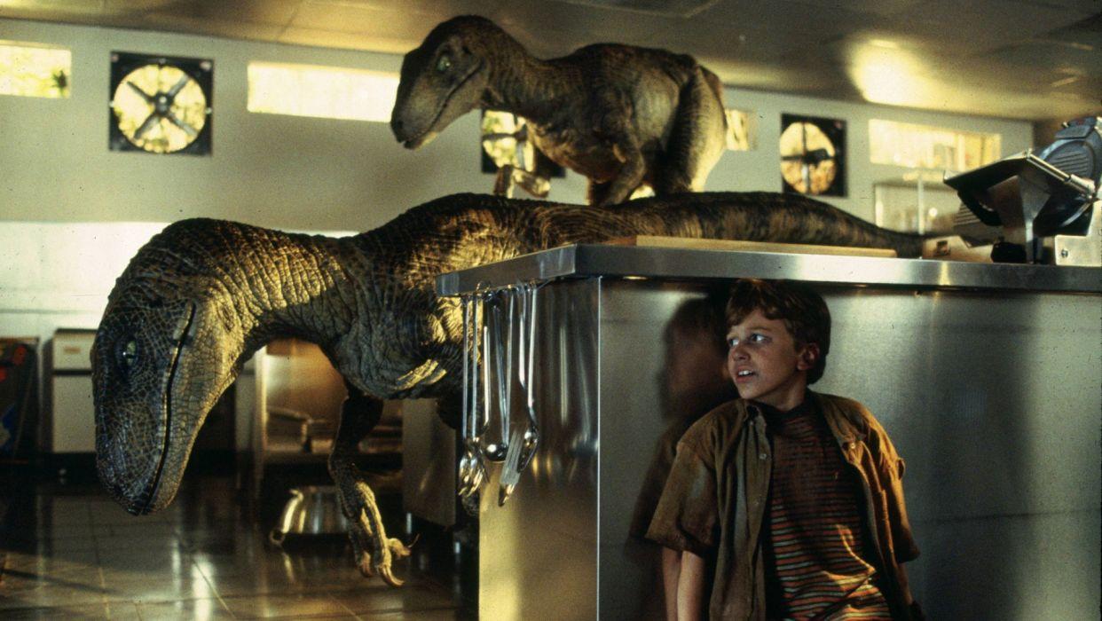 JURASSIC PARK adventure sci-fi fantasy dinosaur movie film dark wallpaper