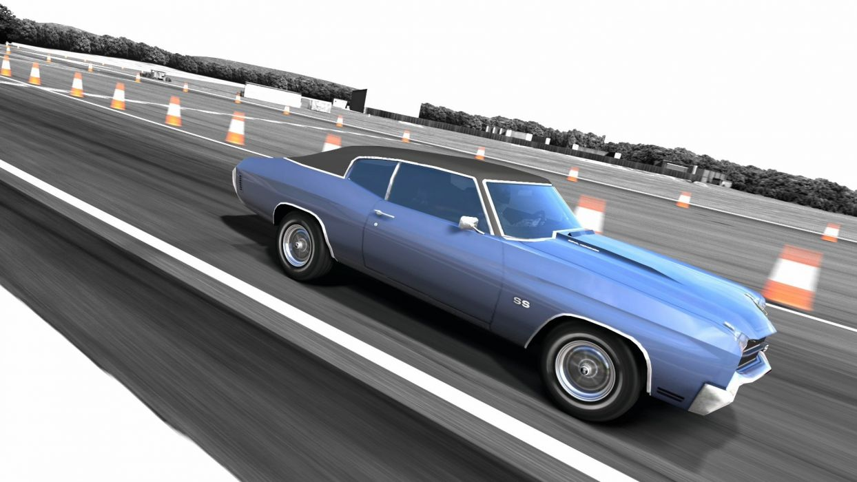 video games cars vehicles Chevrolet Chevelle Gran Turismo 5 Playstation 3 wallpaper