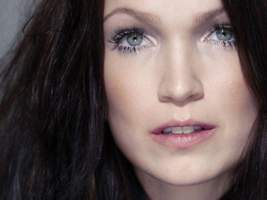 green eyes Tarja Turunen wallpaper