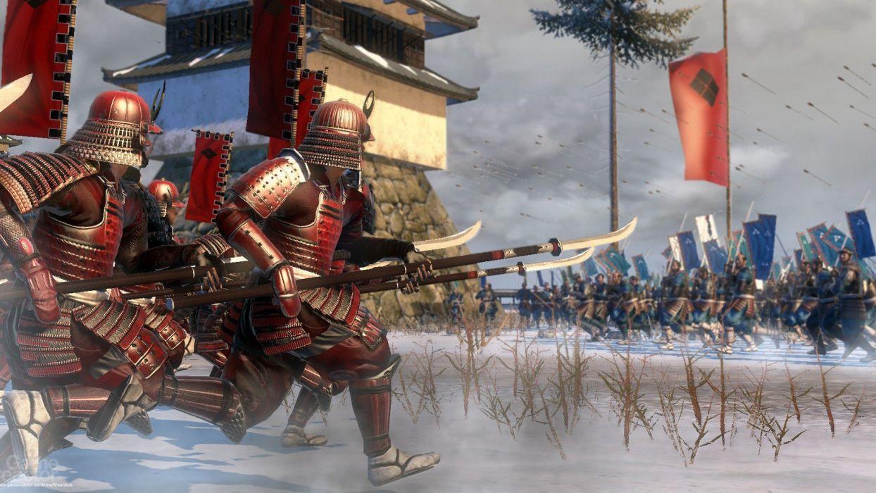 samurai Shogun 2 Total War wallpaper