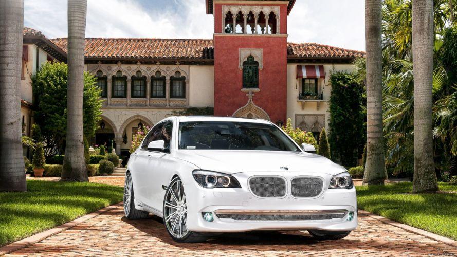 BMW white cars wallpaper