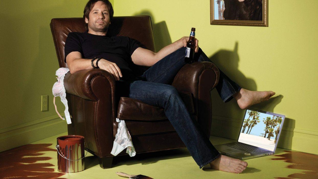 David Duchovny actors Californication TV series Showtime Hank Moody wallpaper
