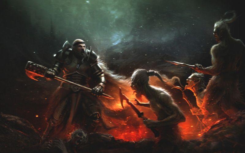 fantasy art battles wallpaper