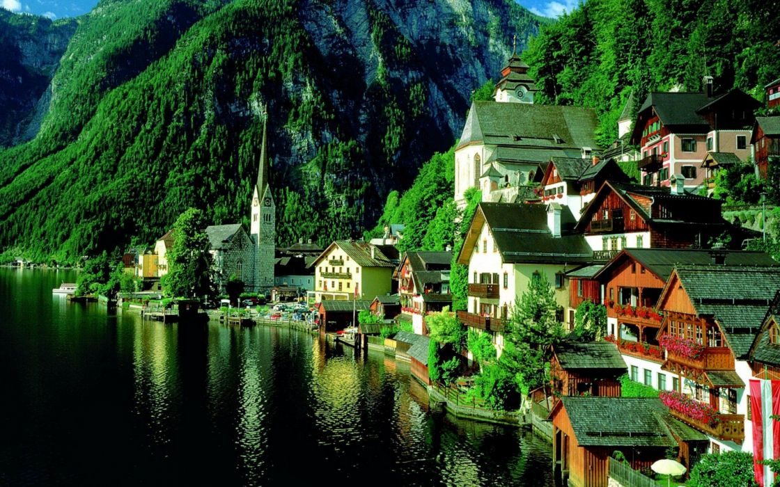 villages wallpaper