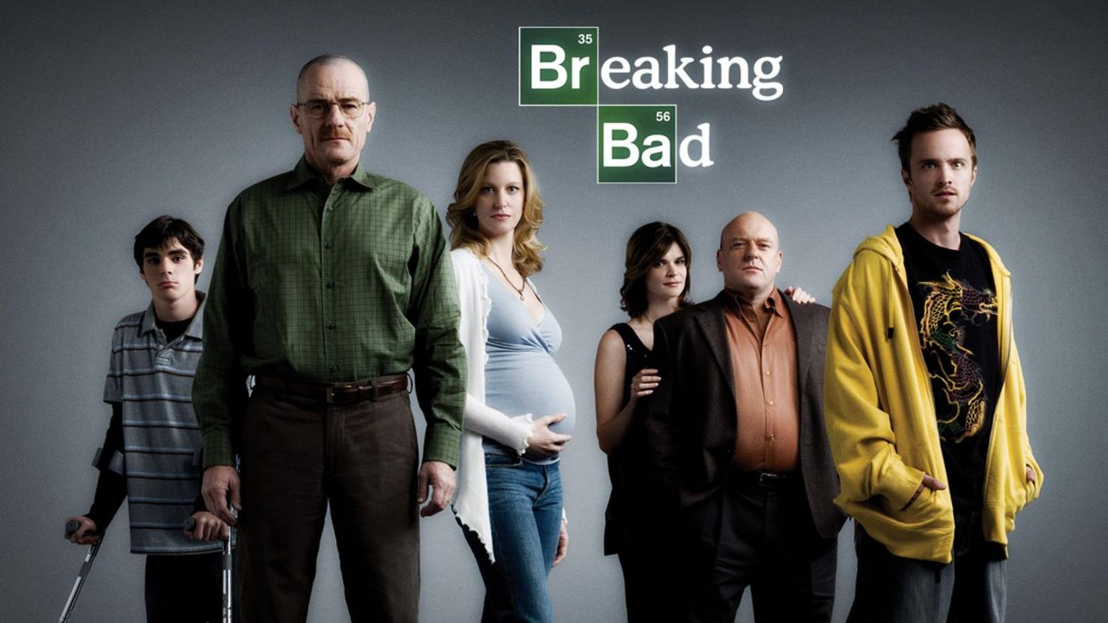 text Breaking Bad TV series Bryan Cranston Walter White Aaron Paul Anna Gunn Jesse Pinkman men with glasses wallpaper
