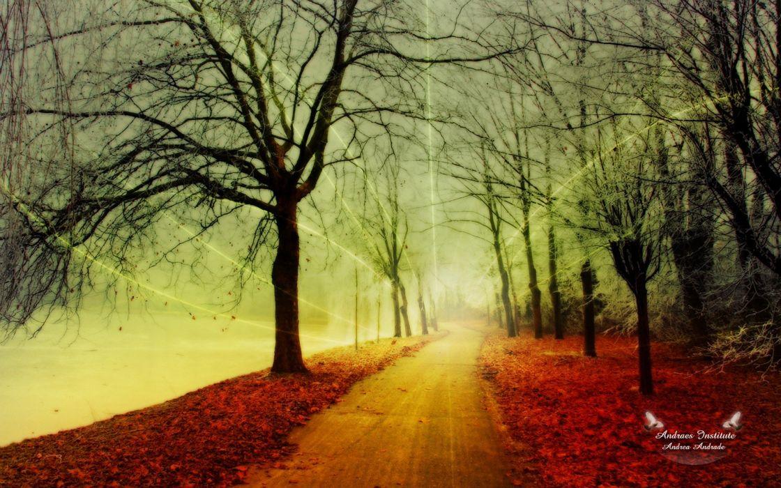 fantasy nature autumn wallpaper
