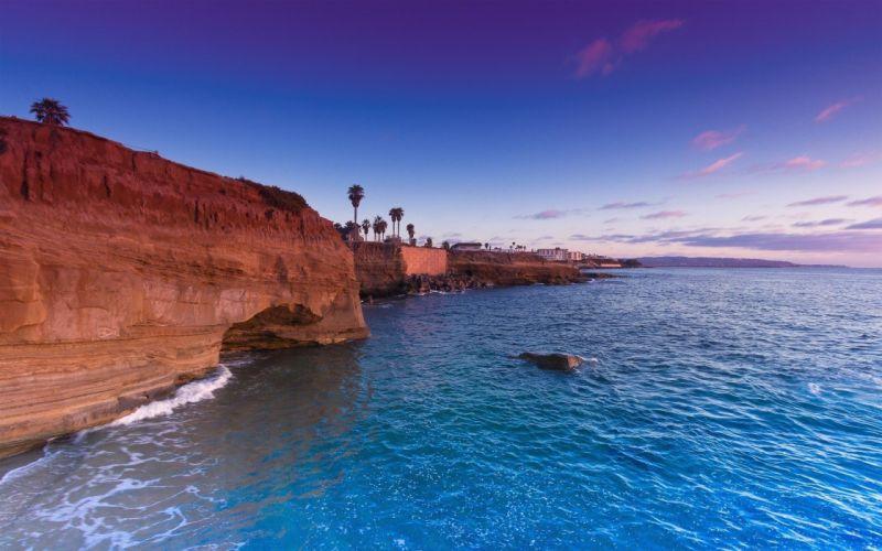 landscapes nature coast wallpaper