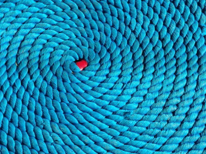 blue coil ropes wallpaper