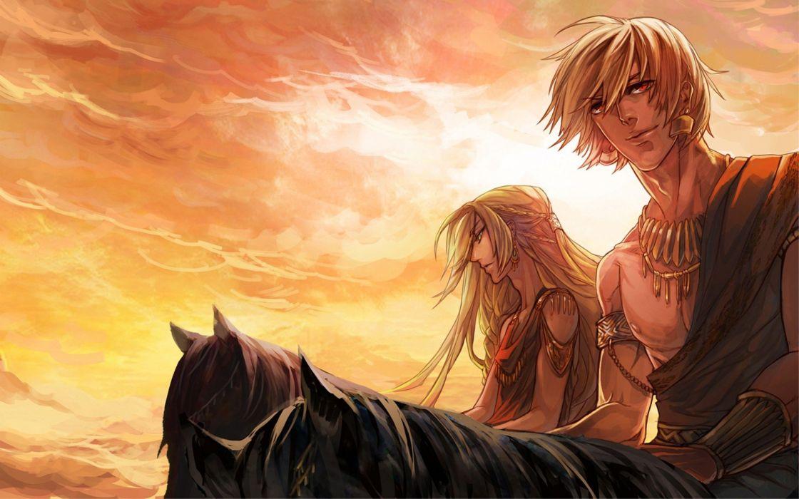 Fate/Stay Night Gilgamesh anime boys Fate series wallpaper