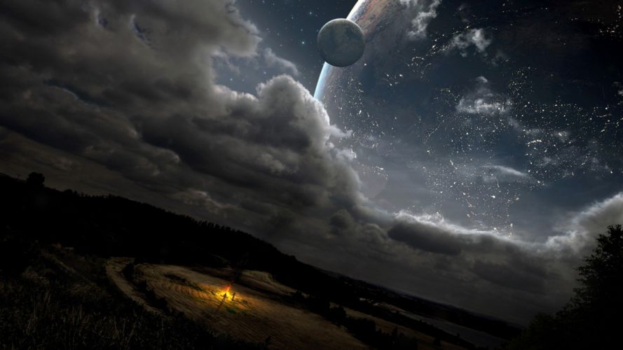 outer space dreams wallpaper