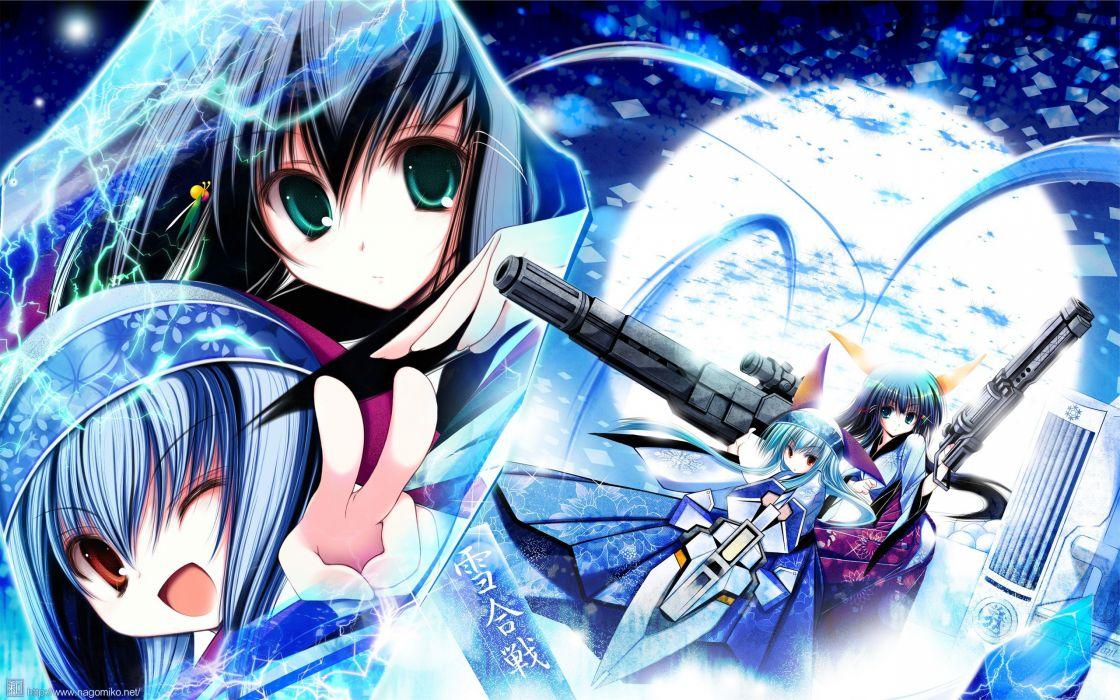 anime Nagomi Tenmu Shinryuusai wallpaper
