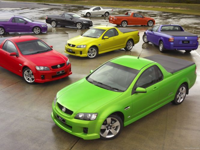 cars Holden red cars sports cars ute Holden Commodore yellow cars green cars wallpaper