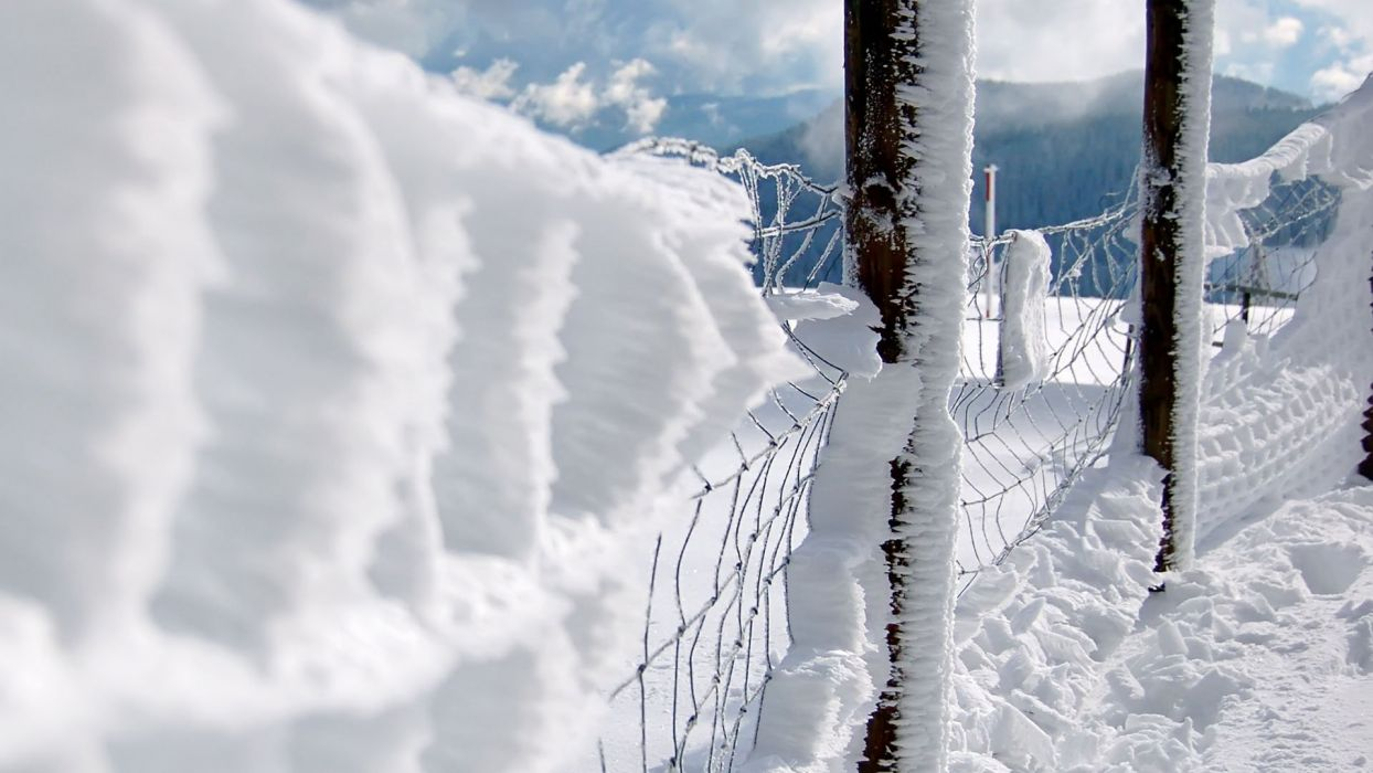 close-up snow fences chain link fence wallpaper