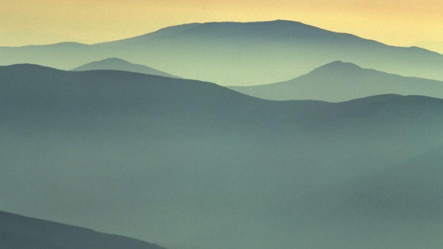 mountains landscapes skylines white Washington Mount wallpaper