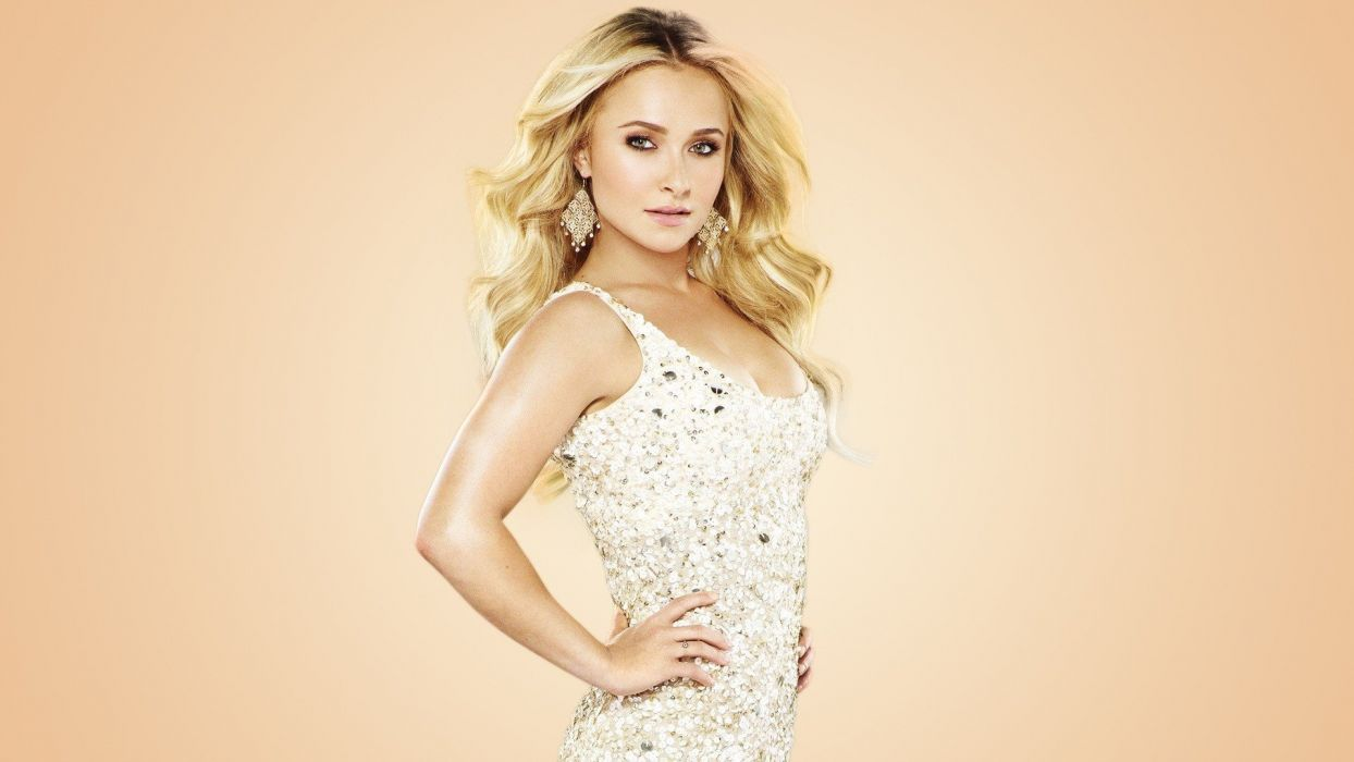 blondes women Hayden Panettiere nashville wallpaper