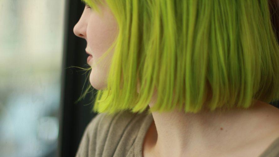 women green hair wallpaper