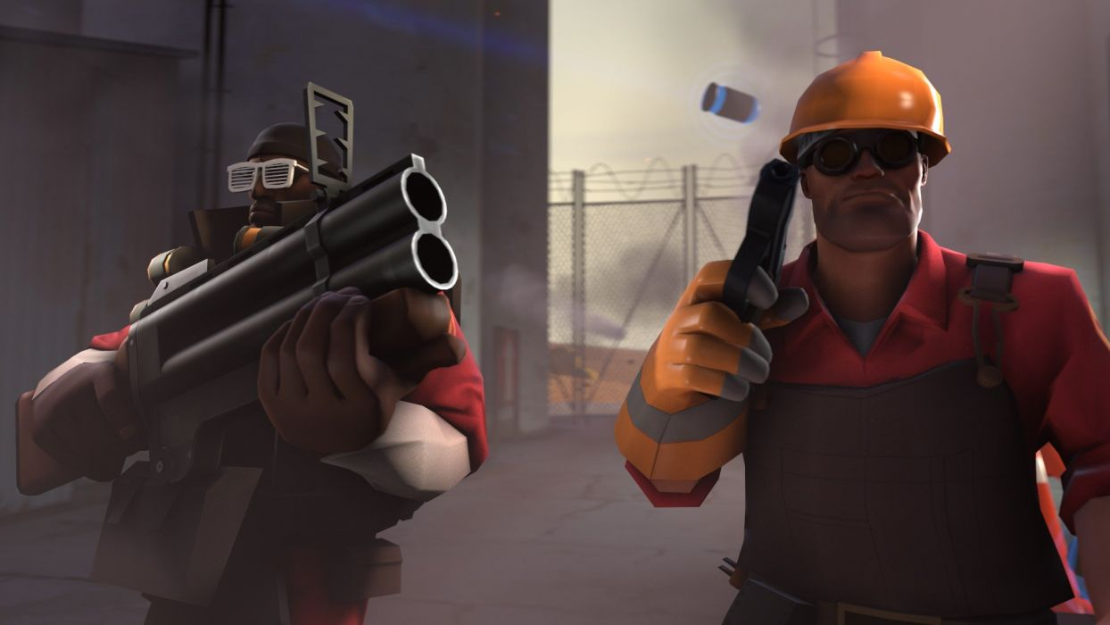 Engineer TF2 Demoman TF2 Team Fortress 2 source filmmaker save as wallpaper
