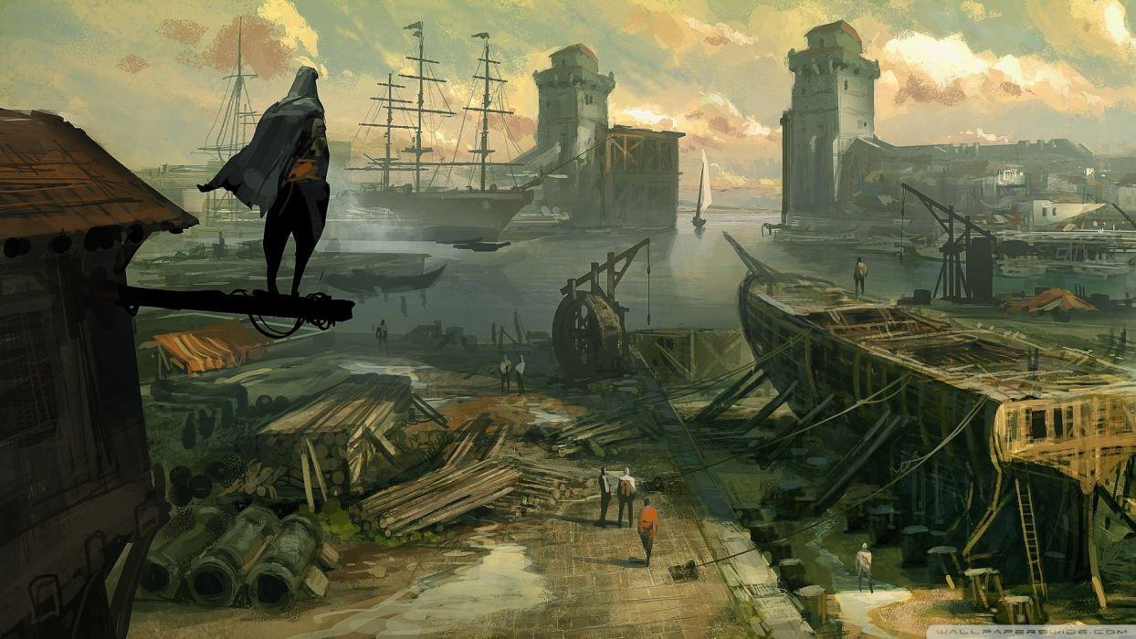 concept art Assassins Creed Revelations wallpaper