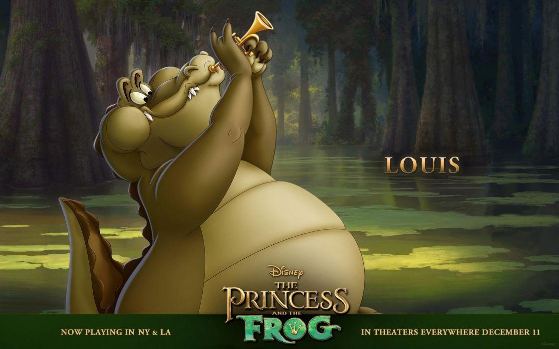 cartoons Disney Company The Princess and the Frog wallpaper