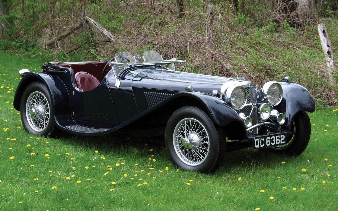 cars classic cars Jaguar 1935 wallpaper