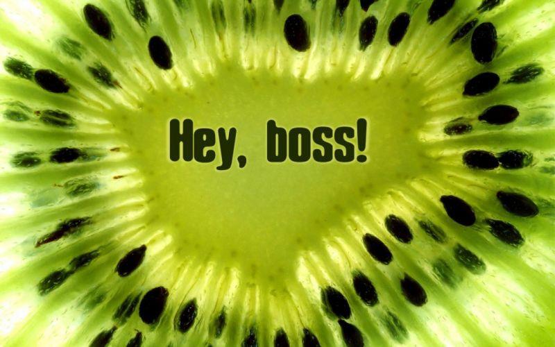 fruits kiwi boss macro wallpaper