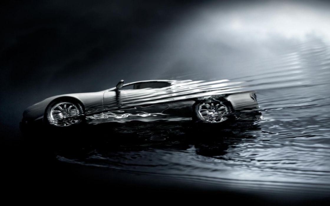 water cars wallpaper