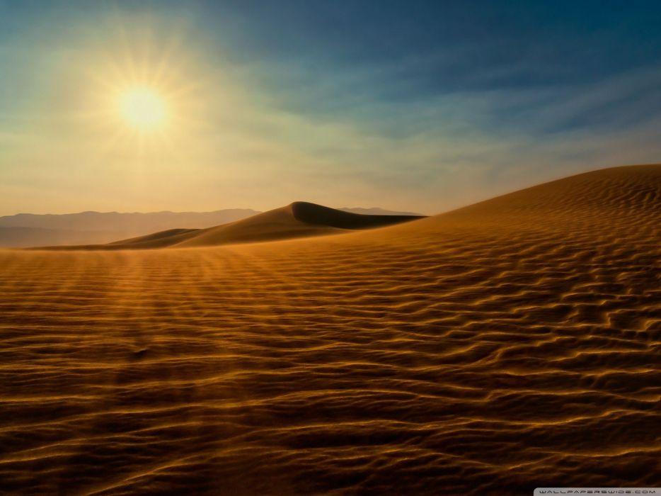 landscapes sand wind wallpaper