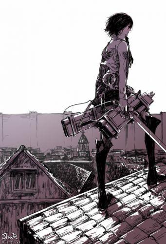 anime anime girls Shingeki no Kyojin Mikasa Ackerman wallpaper