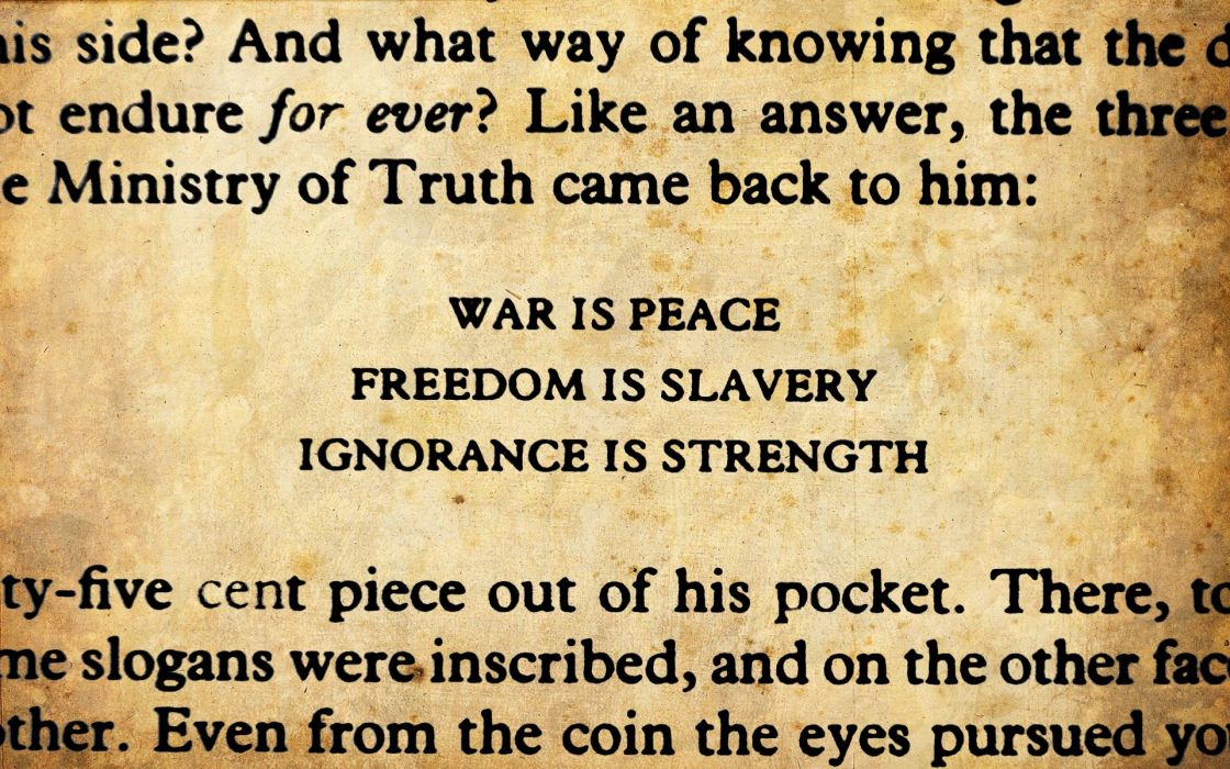 quotes George Orwell wallpaper
