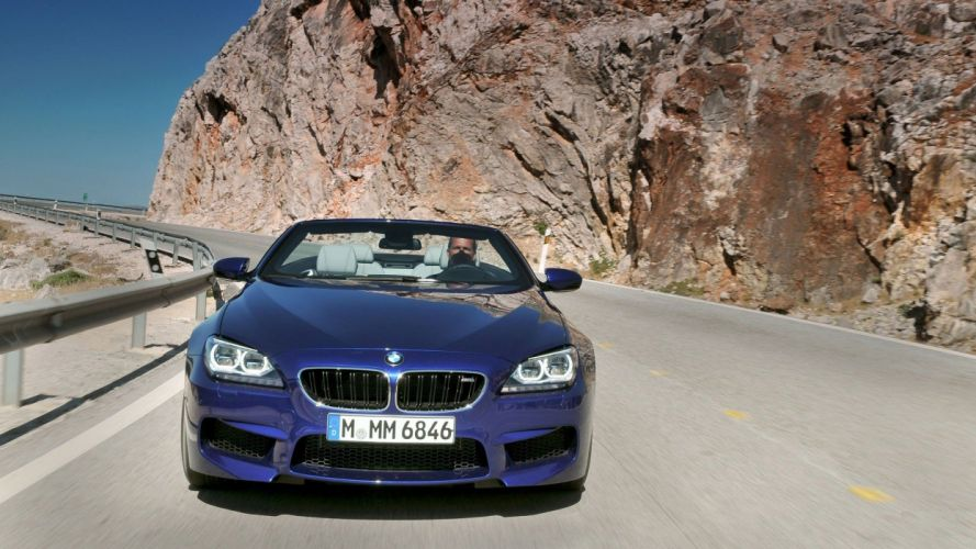 cars convertible BMW M6 wallpaper