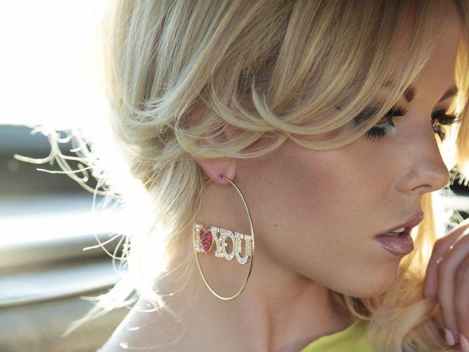 blondes women Lindsay Marie wallpaper