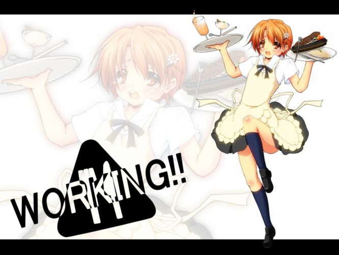 Working!! (Anime) Inami Mahiru wallpaper