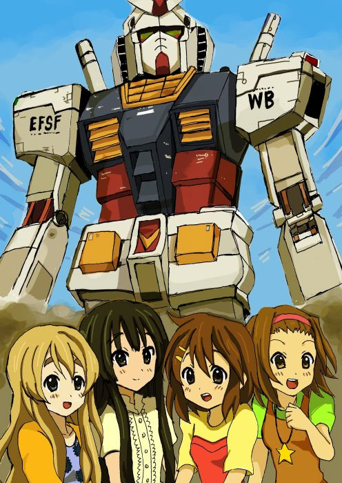 Gundam K-ON! wallpaper